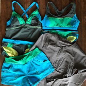 Prana Women's swimwear 6 piece set, Small